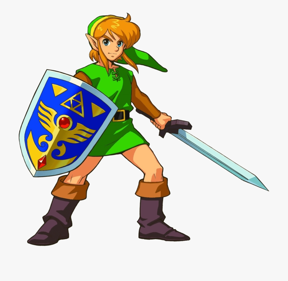 legend of zelda clipart link from a link to the past