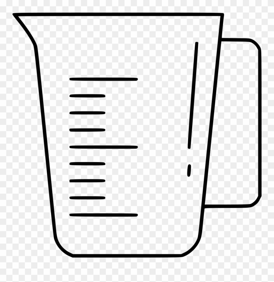 measuring cup comments measuring cup clipart 1004637