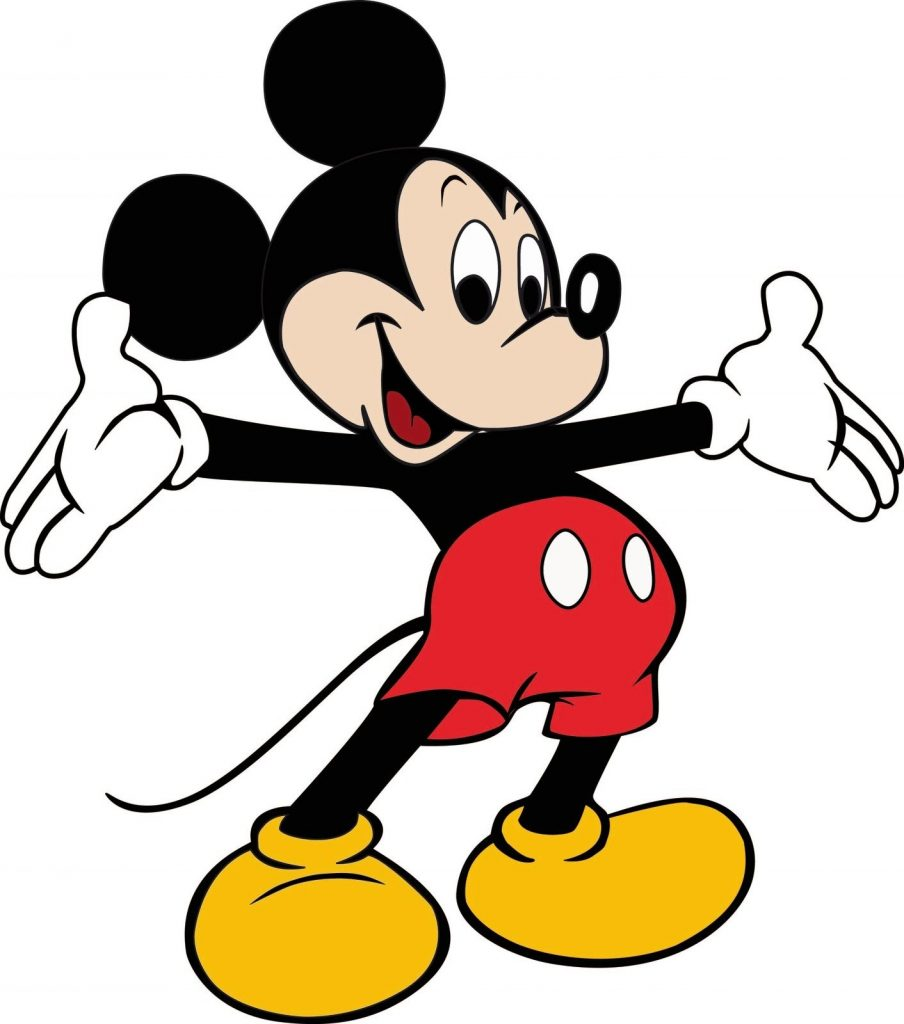 mickey mouse clipart free large images mickey mouse
