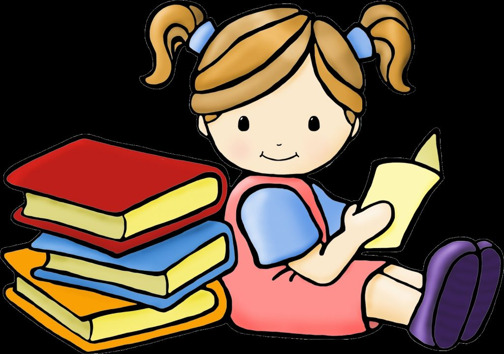 reading time kids reading kids clipart cartoon clip art