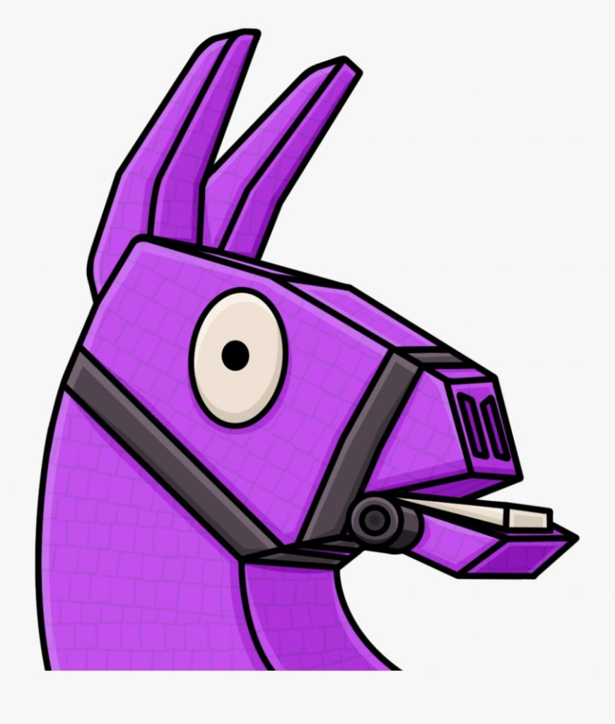 transparent llama clipart llama fortnite clipart free